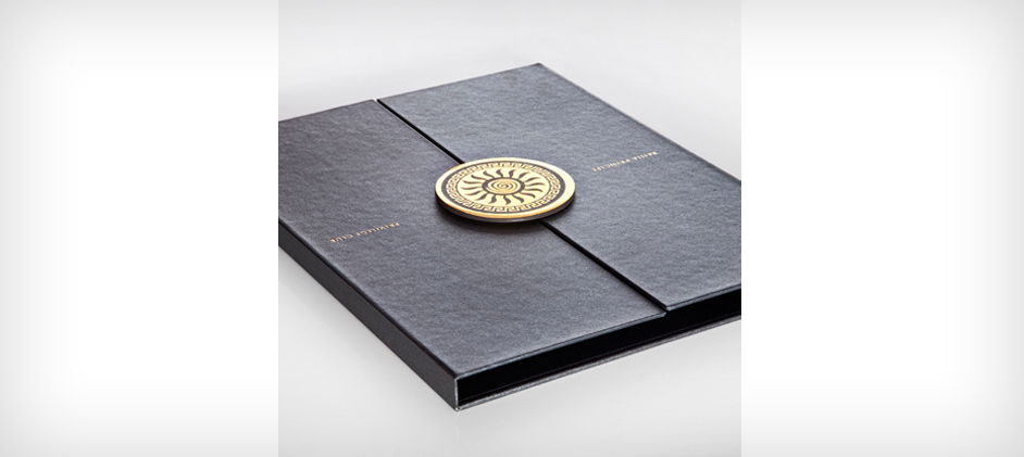 Bahia Pricipe Privilege Club Gate Fold Presentation Folder