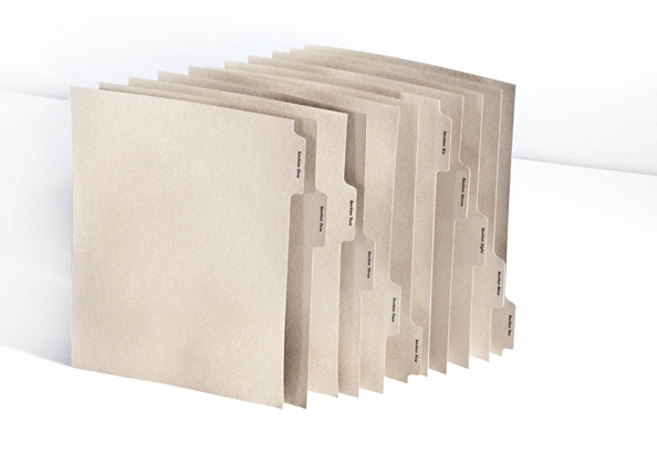 Eco Friendly Custom Index Tabs